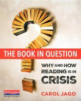 Book in question : why and how reading is in crisis /
