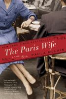Book cover for The Paris Wife by Paula McLain