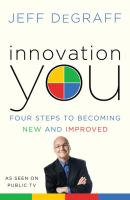 Book cover for Innovation You by Jeff DeGraff