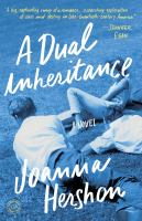 Cover of the book A dual inheritance : a novel