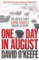 book cover image: one day in august