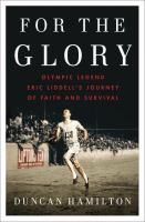 book cover image For The Glory