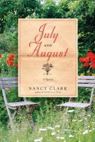 Cover Image of July and August