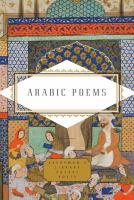 Arabic poems : a bilingual edition