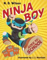 Ninja boy goes to school