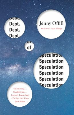 Cover Image for Dept. of Speculation by Jenny Offill