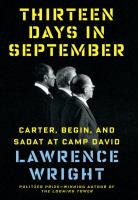 Cover of the book Thirteen days in September : Carter, Begin, and Sadat at Camp David