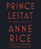 Prince Lestat [sound recording]