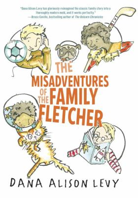 The Misadventures of the Family Fletcher book jacket