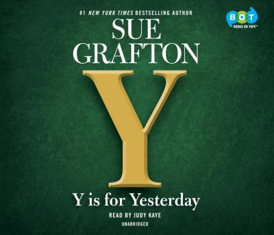Cover Image for Y is for Yesterday