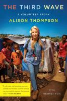 Click here to view The Third Wave by Alison Thompson in SPL catalog