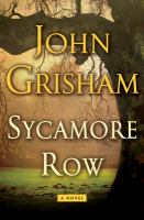 Cover of the book Sycamore row
