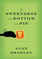 Book cover: Sweetness at the bottom of the pie
