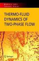 Thermo-fluid dynamics of two-phase flow [electronic resource]