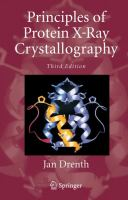 Principles of protein x-ray crystallography [electronic resource]
