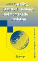 Vorticity, statistical mechanics, and Monte Carlo simulation [electronic resource]