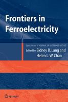 Frontiers of ferroelectricity [electronic resource] : a special issue of the Journal of materials science