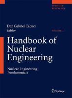 Handbook of Nucelar Engineering [electronic resource]