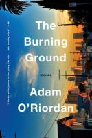 The burning ground cover image