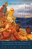book cover image Introducing the Ancient Greeks