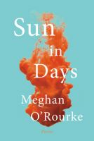 Sun in Days: Poems