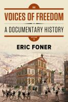 Voices of freedom : a documentary history /