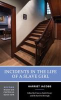 Incidents in the life of a slave girl : authoritative text, contexts, criticism /