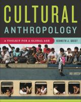 Cultural anthropology : a toolkit for a global age