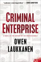 Book Cover - Criminal Enterprise