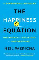 bcok cover image The Happiness Equation