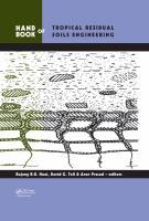 Handbook of tropical residual soils engineering [electronic resource]