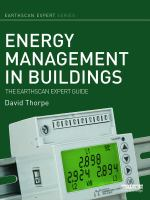 Energy management in buildings : the Earthscan expert guide