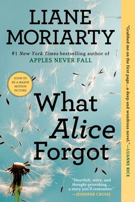 Cover Image for What Alice Forgot by Liane Moriarty