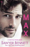 Max : a cold fury hockey novel