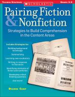 Pairing Fiction & Nonfiction