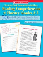 Reading Comprehension and Fluency