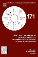 Past and present in DeNOx catalysis [electronic resource] : from molecular modelling to chemical engineering