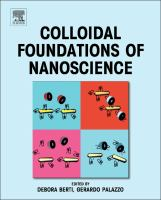 Colloidal foundations of nanoscience [electronic resource]