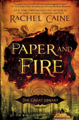 Paper and Fire (The Great Library #2) book jacket