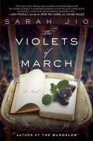 book jacket for The Violets of March