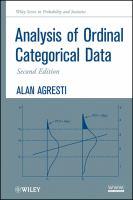 Analysis of ordinal categorical data [electronic resource]