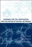 Guidance for the verification and validation of neural networks [electronic resource]