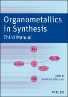 Organometallics in synthesis [electronic resource] : third manual