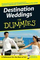 Destination Weddings for Dummies