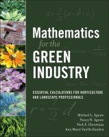 Mathematics for the green industry : essential calculations for horticulture and landscape professionals