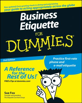 Link to 'Business Etiquette for Dummies'