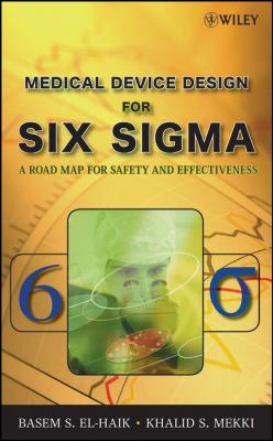 picture of book cover for Medical Device Design for Six Sigma