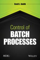 Control of batch processes [electronic resource]