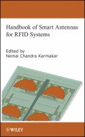 Handbook of smart antennas for RFID systems [electronic resource]