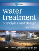 MWH's water treatment [electronic resource] : principles and design.